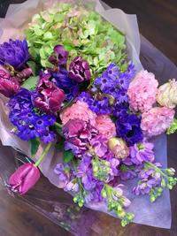 卒業式でお世話になった先生に渡す花 - ルーシュの花仕事