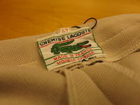 """""""LACOSTE MADE IN FRANCE""""ってこんなこと。 - THE THREE ROBBERS ってこんなこと。"""