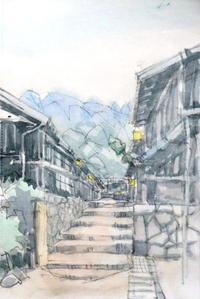 妻籠宿 - ryuuの手習い