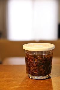 レーズンのみりん漬け - Log.Book.Coffee