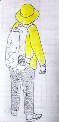 花粉の季節? - たなかきょおこ-旅する絵描きの絵日記/Kyoko Tanaka Illustrated Diary