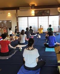 3月のお寺ヨガ in 本昌寺 - 全てはYogaをするために    動くヨガ、歌うヨガ、食べるヨガ