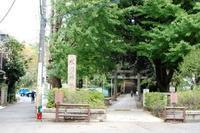 お隣渋谷氷川神社で令和参り - 昔ながらの理容室ですが女性のお顔そりやっております