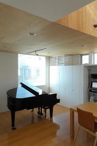 グランドピアノのあるリビング! - 島田博一建築設計室のWEEKLY  PHOTO / 栃木県 建築設計事務所