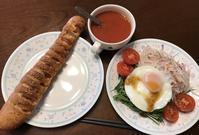 ランチは 昨夜買ったパン。 - よく飲むオバチャン☆本日のメニュー