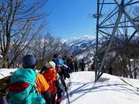 剱岳展望の山千石城山 (717.6M)  下山 編NO2 - 風の便り
