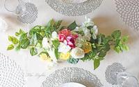 3月のマンスリーレッスン『春のテーブルセンターピース』 - アーティフィシャルフラワー THE LIGHTS(ザ・ライツ)