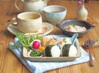 お弁当風朝ごはん - 陶器通販・益子焼 雑貨手作り陶器のサイトショップ 木のねのブログ