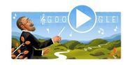 Googleロゴコレクション518「スメタナ生誕195周年」 - 一歩一歩!振り返れば、人生はらせん階段
