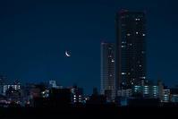 三日月と土星 - オヤヂのご近所仲間日記