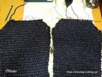 アフガン編みのジャケット  ⑱ - ルーマニアン・マクラメに魅せられて