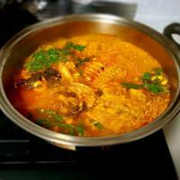 メウンタン(魚のあらの辛いスープ)&ユチェナムル ムッチム(菜の花... - キューニーの食卓