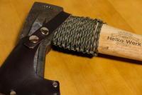 薪割り斧のネックガード - オムイと森羅万象