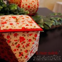 『多角形BOX』 - カルトナージュ教室 ~ La fraise blanche ~