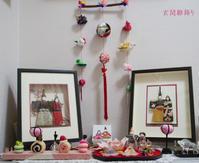 玄関雛飾り - シャドーボックス作品集