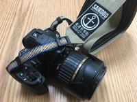 「尾道 帆布鞄 『彩工房』」の一眼レフカメラ用ストラップが届いた - ( どーもボキです > Z_ ̄∂