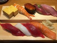 沼津魚がし鮨流れ鮨沼津店で今回の旅行の〆の食事 - たんぶーらんの戯言