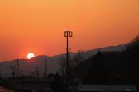 1510 夕日 - 四季彩空間遠野