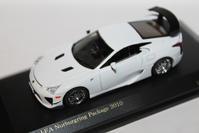 1/64 Kyosho OEM CARNEL LEXUS LFA Nurburgring Package - 1/87 SCHUCO & 1/64 KYOSHO ミニカーコレクション byまさーる