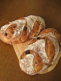 カンパーニュ(オレンジ・レーズン) - slow life,bread life