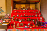 名栗のひな人形と日高市の古民家のひな人形 - デジカメ写真集