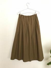 タックギャザースカート*3色 - codica
