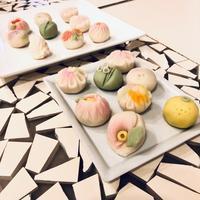 春の和菓子を楽しむ@Kai House Clubセミナー - お茶をどうぞ♪