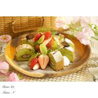 森のピクニック**ひな祭りプレート - BEAN ART Cafe  - Mami . N -