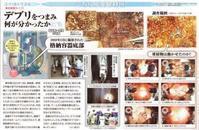 F1-2 デブリをつまみ何が分かったか/こちら原発取材班東京新聞 - 瀬戸の風