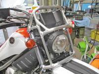 F田サン号 トリッカー250のメンテやメーターガード製作が完成ーー(^O^)/ - バイクパーツ買取・販売&バイクバッテリーのフロントロウ!