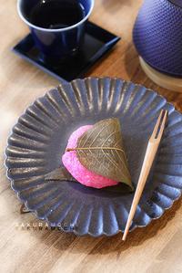道明寺粉の桜餅 - KICHI,KITCHEN 2