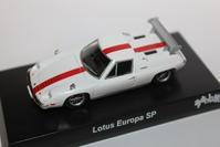 1/64 Kyosho THE CIRCUIT WOLF Lotus Europa Special - 1/87 SCHUCO & 1/64 KYOSHO ミニカーコレクション byまさーる