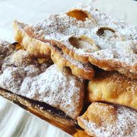 カーニバルのお菓子、キアッキエレ - 幸せなシチリアの食卓、時々旅