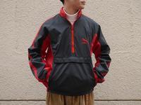 "1980's ""PUMA"" Nylon Halfzip Jacket!!! - BAYSON BLOG"