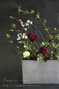 先週の定期装花からアリウム - Impression Days