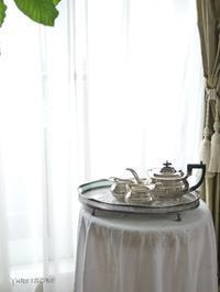 銀器を簡単に輝かせる方法 - お茶をどうぞ♪