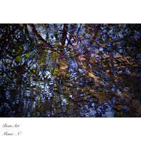 水面にたゆたう波紋 - BEAN ART