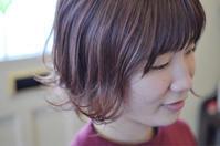 エドルで春色ピンクベージュ - 観音寺市 美容室 accha