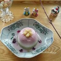 2019ひな祭り☆犬手作りおやつは「3色ゼリー」 - 狆の茶々丸