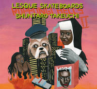 LESQUE SKATEBOARDS x 竹内俊太郎 - Growth skateboard elements