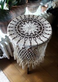 手編みテーブルクロス281 - スペイン・バルセロナ・アンティーク gyu's shop