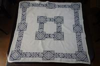 麻青糸ドロンワークテーブルクロス282 - スペイン・バルセロナ・アンティーク gyu's shop