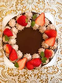 チョコレートドリップケーキ - 調布の小さな手作りお菓子教室 アトリエタルトタタン