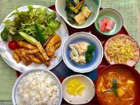甘辛チキン&牛蒡★(^^♪・・・・・700円ランチ - 日だまりカフェ