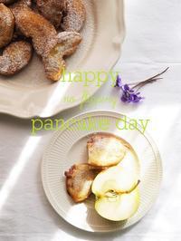 懺悔の火曜日:青リンゴのベニエ - serendipity blog