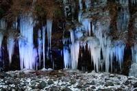 秩父市三十槌の氷柱ライトアップ開始その2 - 日本あちこち撮り歩記