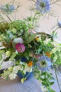 New 来期のご案内「亮子さんのフラワーレッスン」ー花を生かす力をつける - Bouquets_ryoko