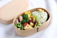 今日のお弁当は、菜っ葉飯おむすび - キラキラのある日々