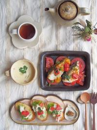 アボカドオープンサンド - 陶器通販・益子焼 雑貨手作り陶器のサイトショップ 木のねのブログ