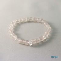 Br ハーキマーダイヤモンド、ローズクォーツ (4543) - natural essence : EKO PROJECT